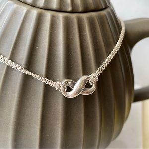 🛍Tiffany & Co. Infinity Pendant Necklace 925